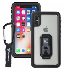 Armor-X MX IP68 Vedenkestävä suojakotelo iPhone X, musta / läpinäkyvä
