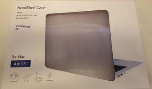 """Apple Macbook Pro 13"""" Unibody Kovamuovinen suojakotelo Valkoinen / Läpinäkyvä"""