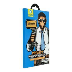 """5D Mr. Monkey Privacy Iskunkestävä Panssarilasi iPhone XR/11 6,1"""" - musta"""