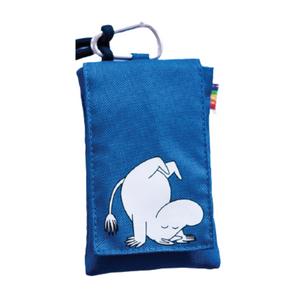 Muumi-suojapussi Muumipeikko, yleiskäyttöinen suojapussi puhelimelle - sininen