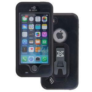 Armor-X MX Vedenkestävä kotelo iPhone 5 / 5S / 5SE - Musta