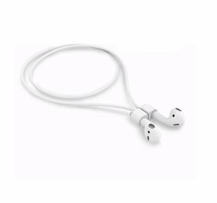 Devia V0 magneettinen Air Pods hihna, valkoinen