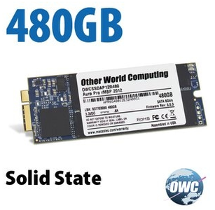OWC Aura 6G SSD 500GB Macbook Pro Retina 2012 / Early 2013