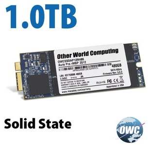 OWC Aura Pro 6G SSD 1TB Macbook Pro Retina 2012 / Early 2013