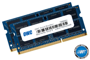 OWC Ram 16GB Kit (2x8GB) SO-DIMM PC3-14900 1867MHz