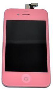 iPhone 4S LCD-näyttö + kosketuspaneeli - Pinkki