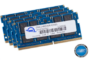 OWC RAM 64GB Kit (4x16GB) SO-DIMM PC4-19200 2400MHz
