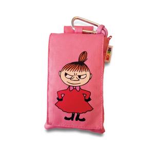 Muumi-suojapussi Pikkumyy, yleiskäyttöinen suojapussi puhelimelle - pinkki