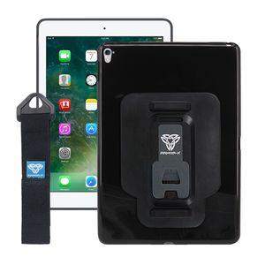 Armor-X PXT Apple iPad Air 1 -suojakotelo käsihihnalla & X-mountilla - Musta