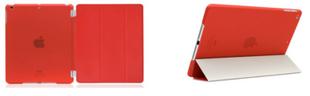 Apple iPad 2017 / 2018 Suojakuori Magneettiläpällä - Punainen