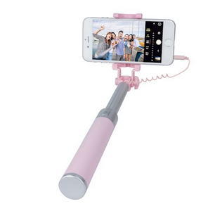 Forever Joy Monopod selfiekeppi pinkki JMP-200