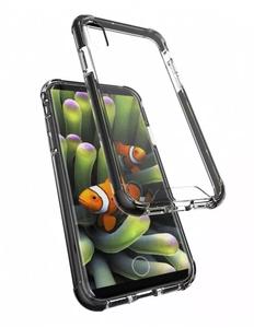 Armor-X CBN iPhone X Iskunkestävä suojakotelo - Läpinäkyvä / musta