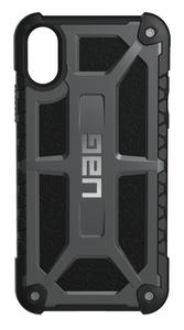 UAG Urban Armor Gear Monarch suojakotelo iPhone X / XS - Grafiitti / musta