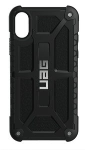 UAG Urban Armor Gear Monarch suojakotelo iPhone X / XS - Musta