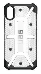 UAG Urban Armor Gear Plasma kestävä suojakotelo iPhone X - Läpinäkyvä / musta