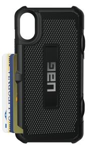 UAG Urban Armor Gear Trooper kestävä suojakotelo iPhone XS Max - Musta