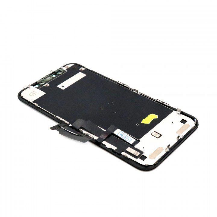 iPhone XR Näyttö ja kosketuspaneeli (LG: DTP/C3F) OEM Refurbished - Musta