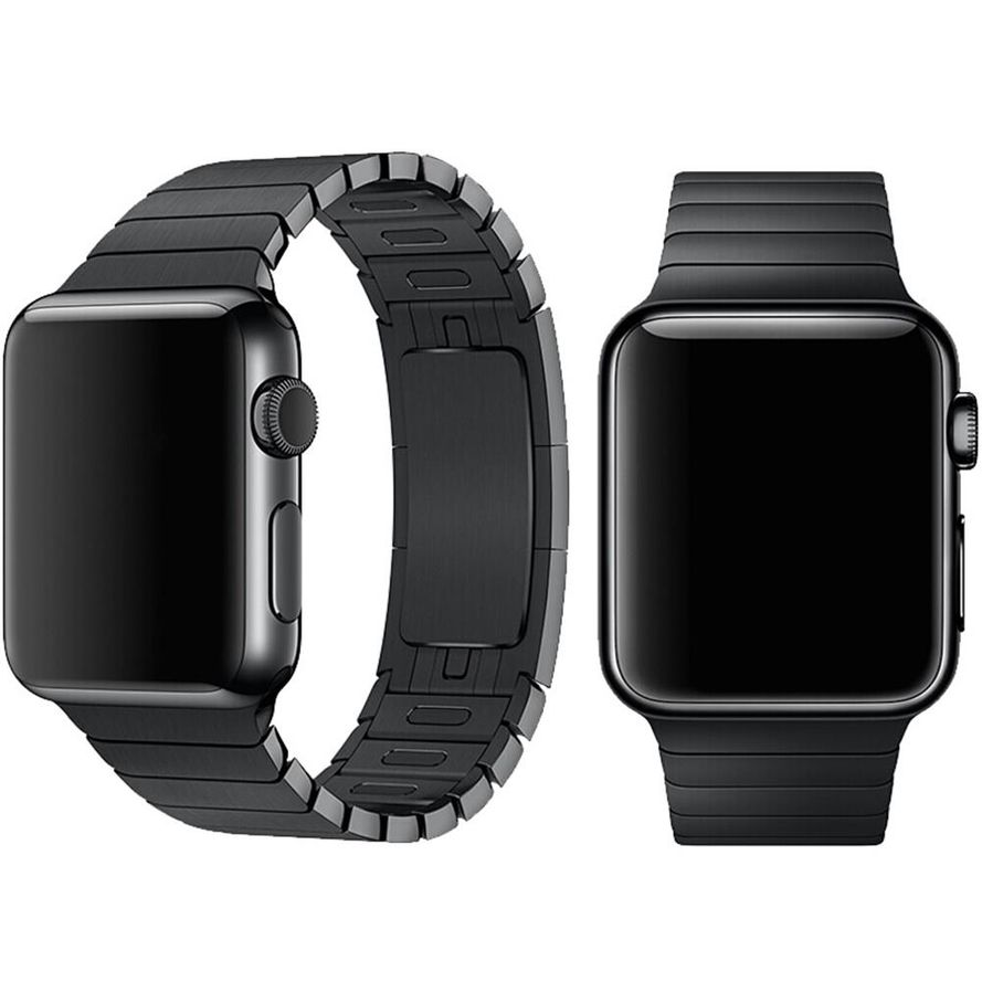 Devia Apple Watch hihna 40mm/ 38mm, musta