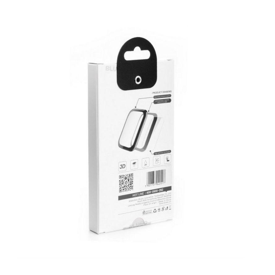 5D Mr. Monkey Iskunkestävä 9H Panssarilasi Apple Watch 4 / 5 40mm, musta