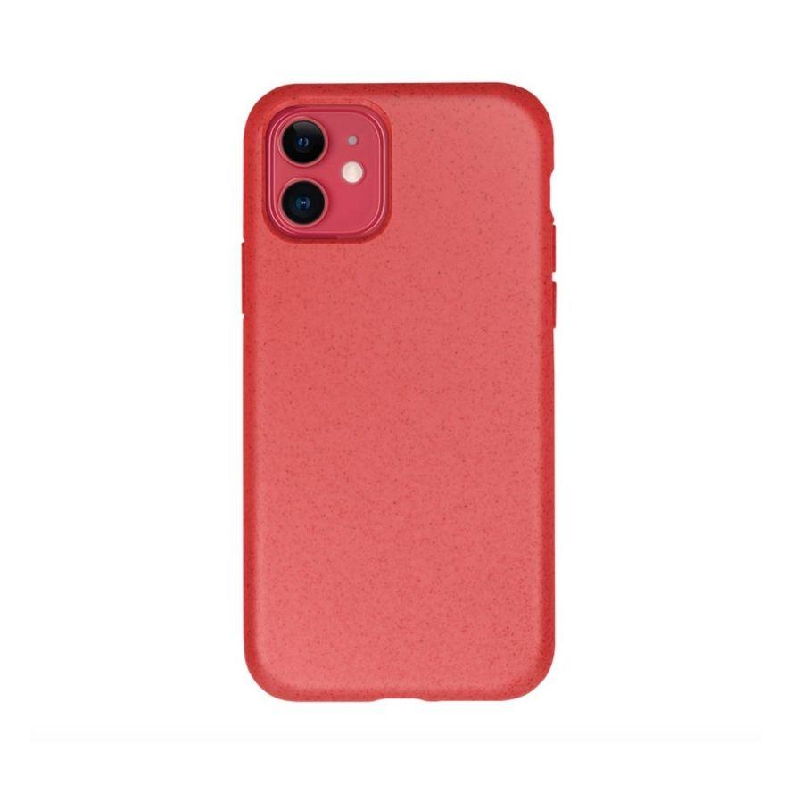 Forever Bioio 100% biohajoava suojakotelo iPhone 11 - punainen