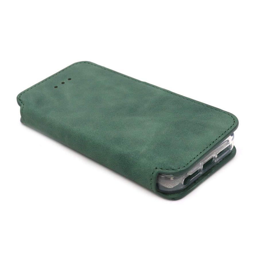 NovaNL Bookcase Volume 1.0 suojakotelo Apple iPhone 5 / 5S / SE - vihreä