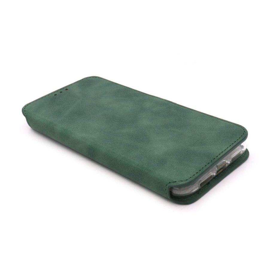 NovaNL Bookcase Volume 1.0 suojakotelo Apple iPhone 11 - vihreä