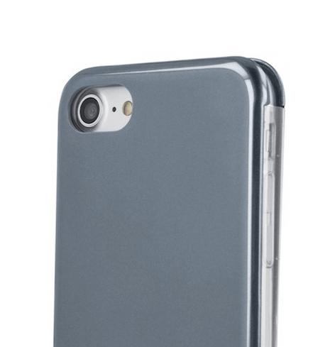 Forever lompakkomallinen Armor suojakotelo iPhone XR - harmaa