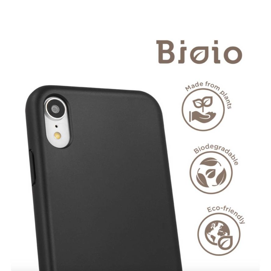Forever Bioio 100% biohajoava suojakotelo iPhone 7 Plus / iPhone 8 Plus - musta