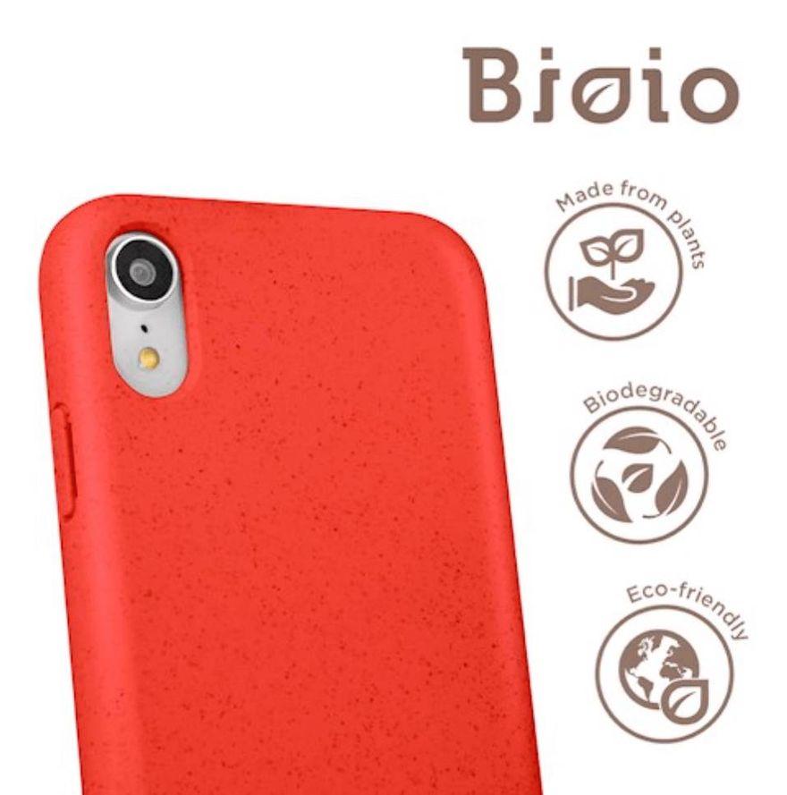 Forever Bioio 100% biohajoava suojakotelo iPhone 7 / 8 / SE 2 - punainen