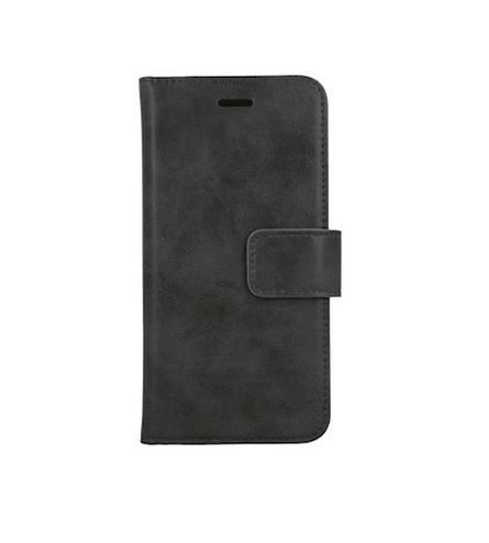 Forever Classic lompakkomallinen suojakotelo iPhone 11 Pro aitoa nahkaa - musta