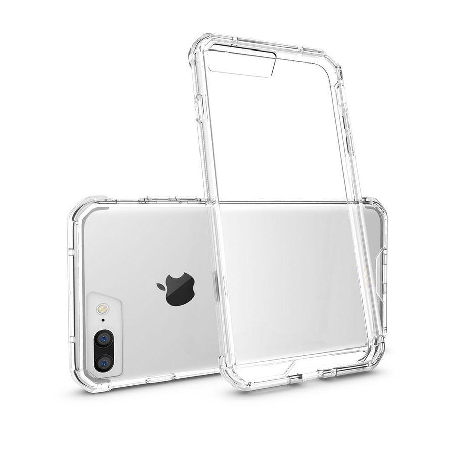 Armor-X iPhone 6 Plus / 6S Plus Ultra Slim Iskunkestävä Suojakotelo - Läpinäkyvä