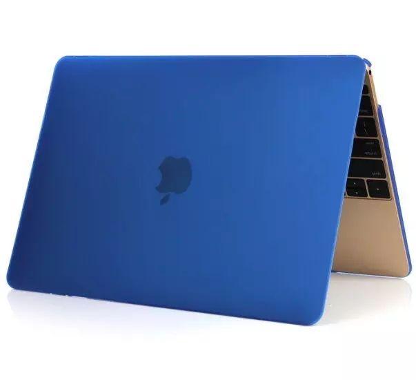"""Apple Macbook Pro 15"""" Touchbar A1707 Kovamuovinen suojakotelo Sininen"""
