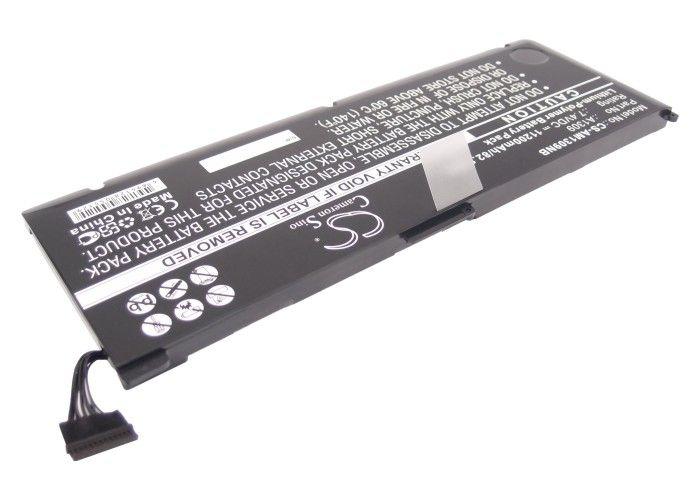 Macbook Pro 17-tuumaa 2009 2010 A1297, A1309 akku 11200 mAh musta