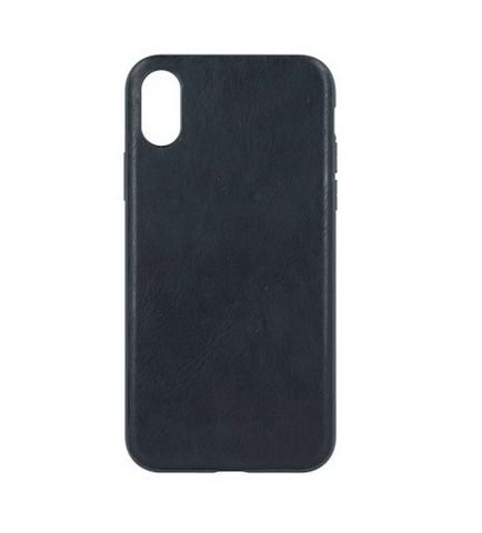 Forever Prime suojakotelo iPhone XR aitoa nahkaa - musta