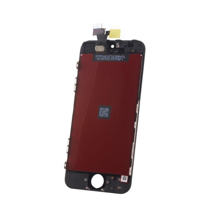 iPhone 5S LCD näyttö + kosketuspaneeli - Musta