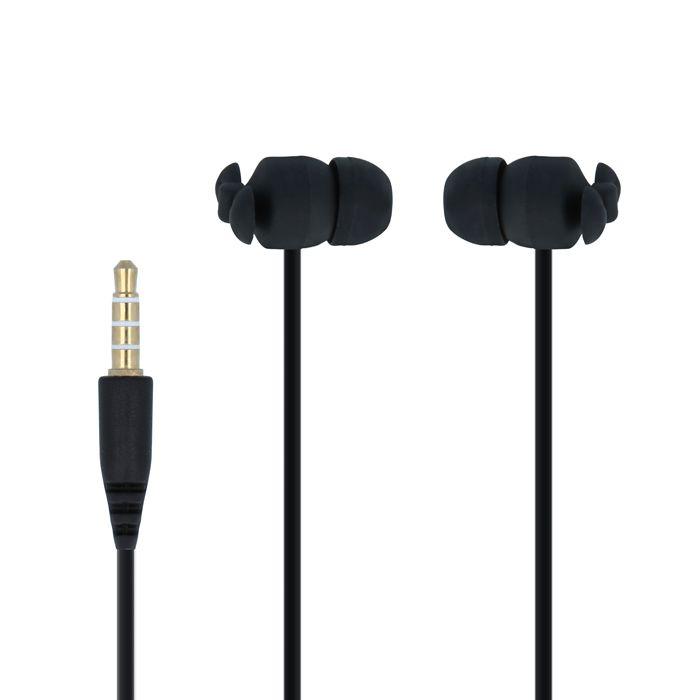 Forever CM-370 Nappikuulokkeet Mikrofonilla - Musta