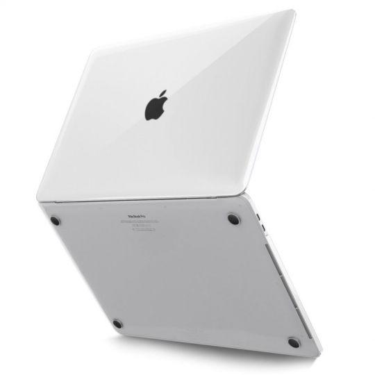 """Tech-Protect Apple Macbook Pro 13"""" 2016-2020 Kovamuovinen suojakotelo Läpinäkyvä"""