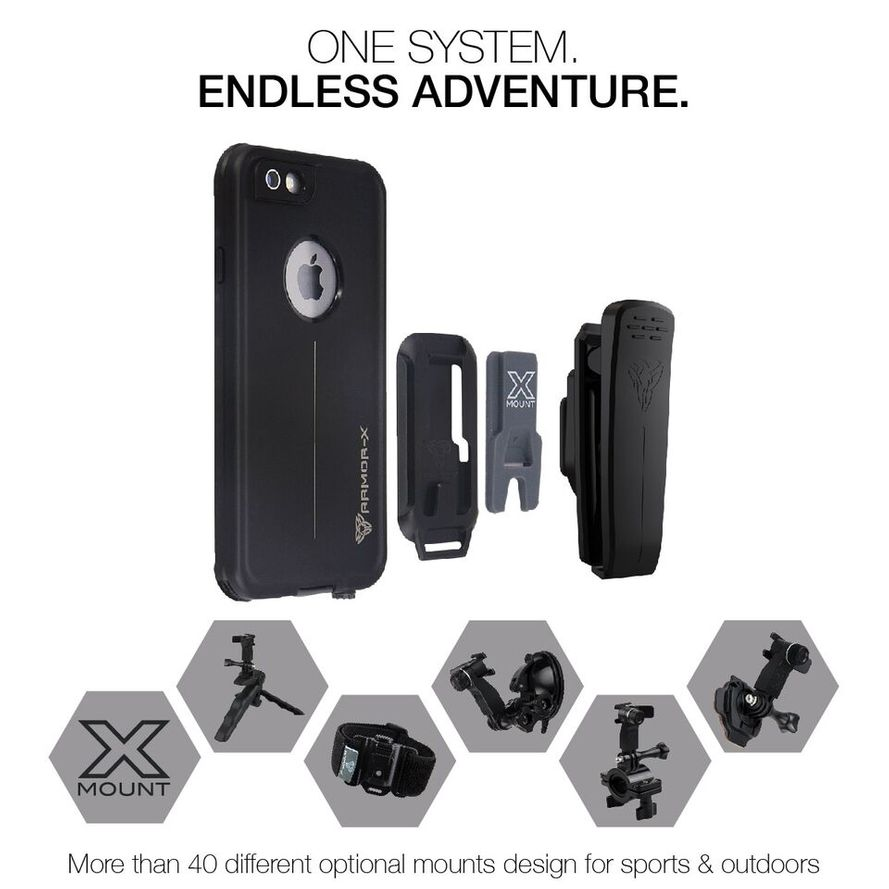Armor-X MX iPhone 6 / 6S IP68 Vedenkestävä suojakotelo MX-AP4S-WT