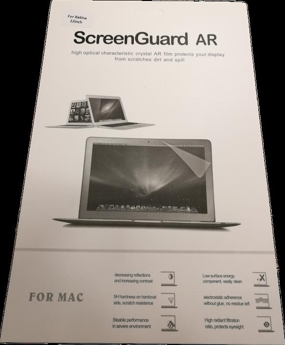 """Apple Macbook 12"""" Näytönsuojakalvo"""