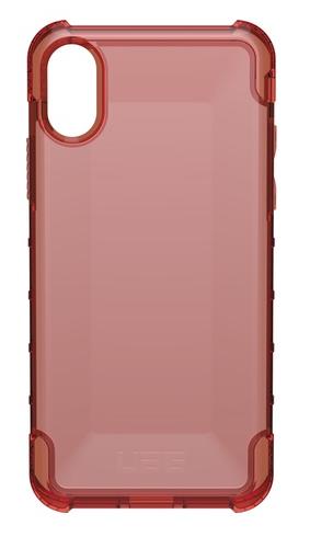 UAG Urban Armor Gear Iskunkestävä Plyo suojakotelo iPhone X - Purppuranpunainen