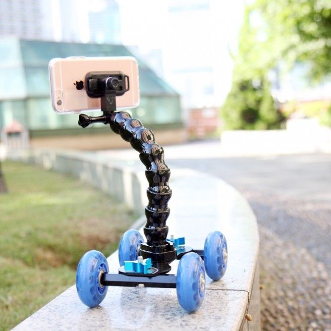 Armor-X X45 Kamera Mini Dolly + Varsi, musta