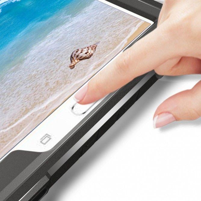 Armor-X EXN Ultra 3 Layers Iskunkestävä suojakotelo iPad Pro 10.5, musta
