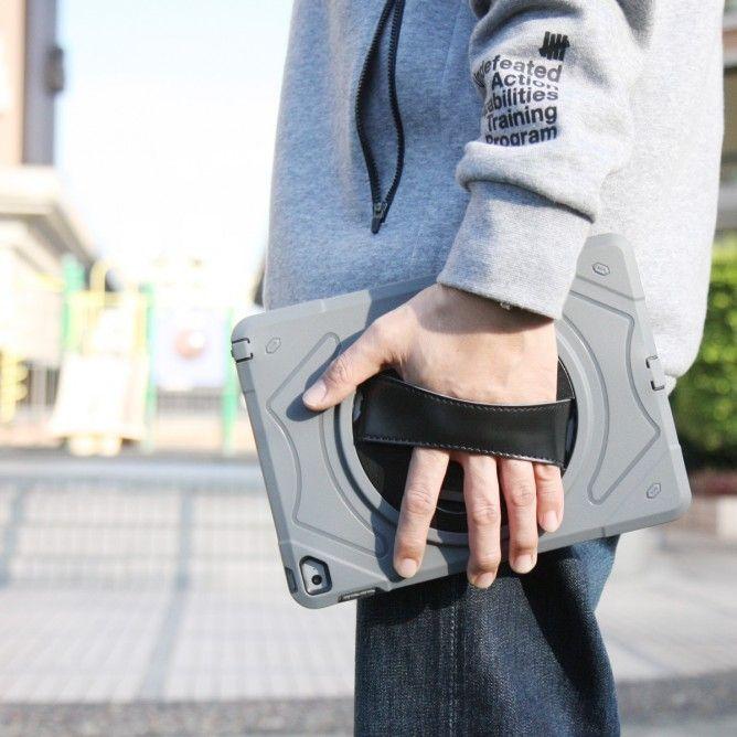 Armor-X EXN Ultra 3 Layers Iskunkestävä suojakotelo iPad Pro 9.7, harmaa